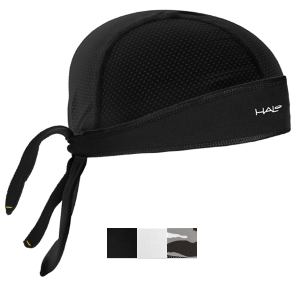 Halo Protex Bandana H S White Son Ltd I Tie Headband Black