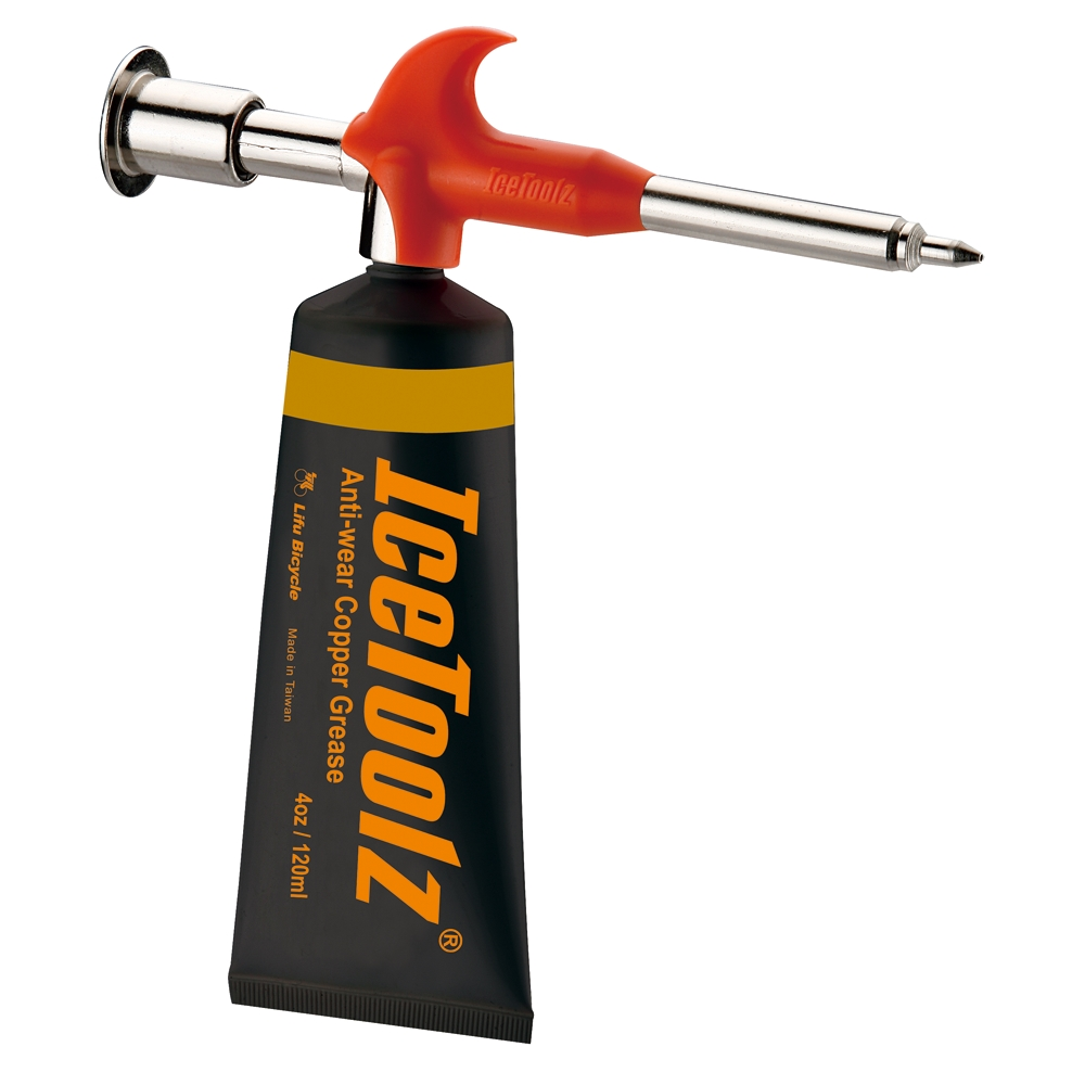 IceToolz Anti-Wear Copper Grease & Gun