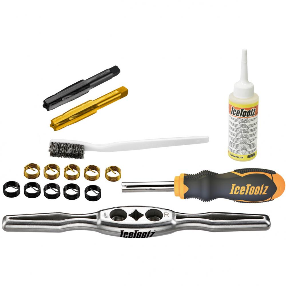 IceToolz Pedal Thread Repair Kit