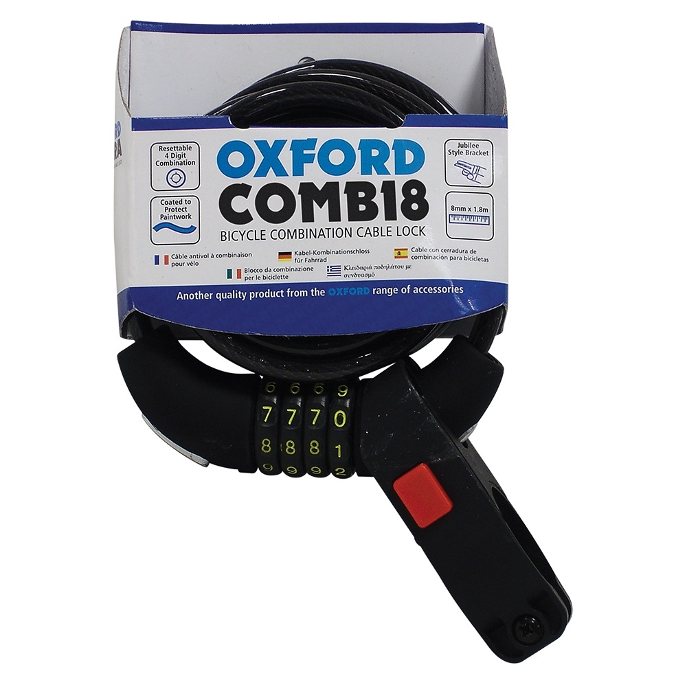 Oxford Combi8 Combination Lock