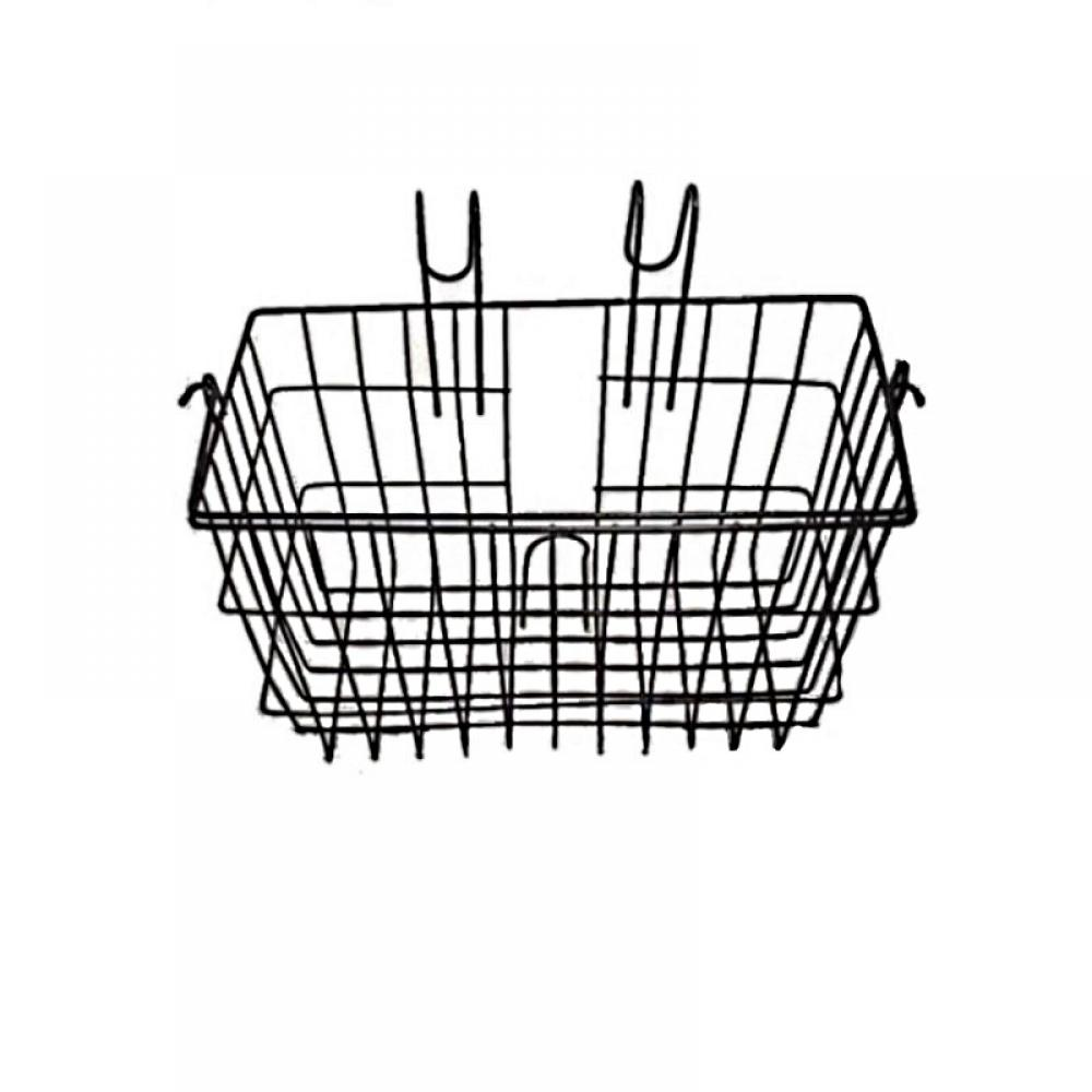 Wire Basket With Hooks